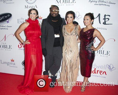 Eva Longoria and will.i.am, along with guests The...