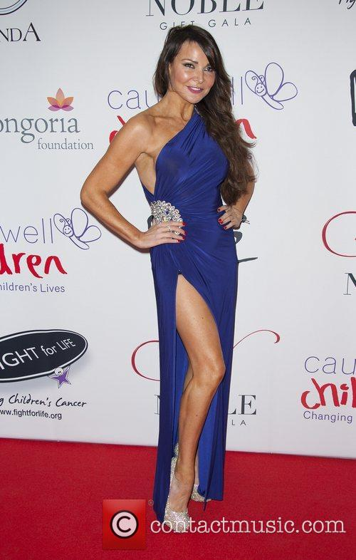 Lizzie Cundy The Noble Gift Gala held at...