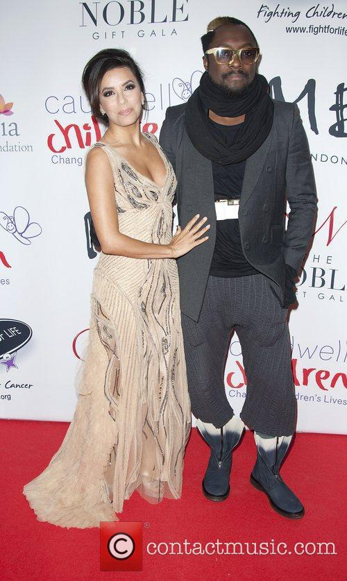 Eva Longoria and wil.i.am attending the The Noble...