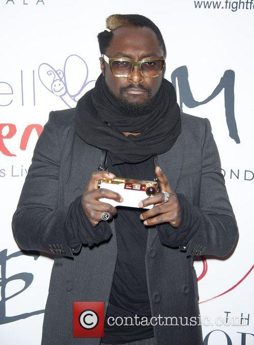 will.i.am attending the The Noble Gift Gala, aising...