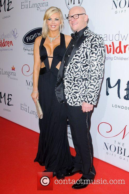John Caudwell and Guest The Noble Gift Gala...