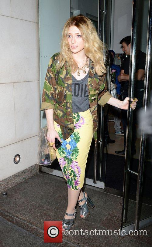Nicola Roberts leaving Nobu