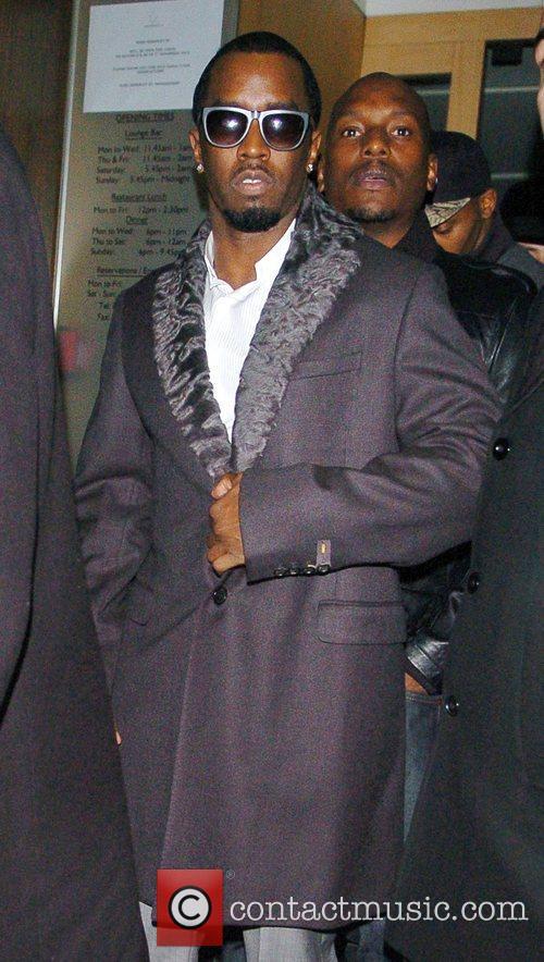 Sean, Diddy' Combs, Nobu Berkeley and Mayfair 4