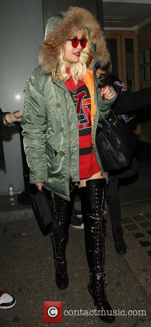 Rita Ora, Nobu Berkeley and Mayfair 24