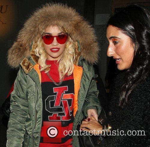 Rita Ora, Nobu Berkeley and Mayfair 19