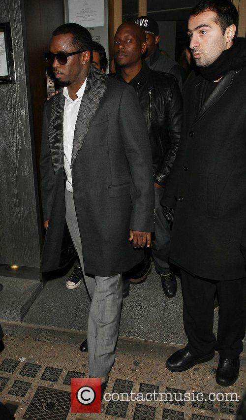 Sean, Diddy' Combs, Nobu Berkeley and Mayfair 10