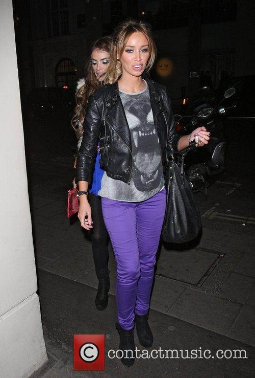chloe sims and lauren pope leaving nobu 3732285