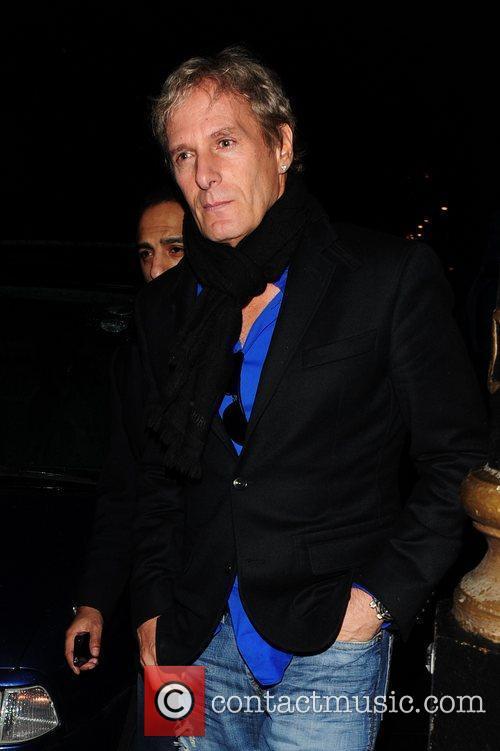 Michael Bolton outside Nobu restaurant London, England
