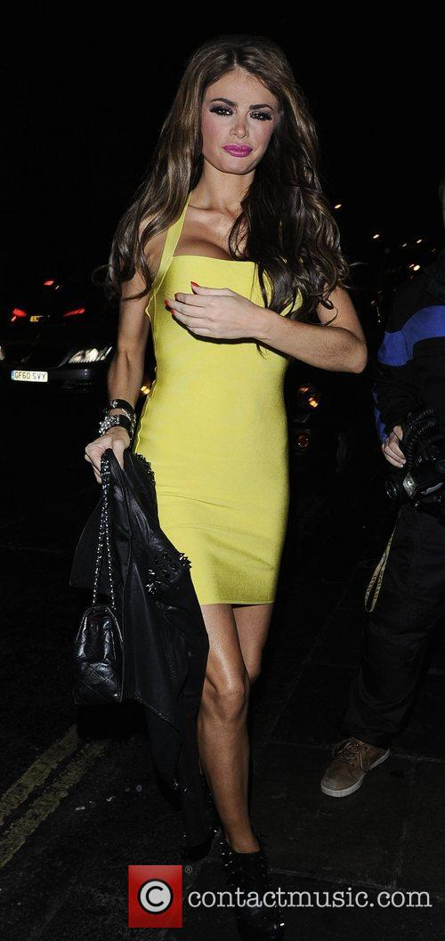 Chloe Sims  arriving at Nobu Restaurant London,...