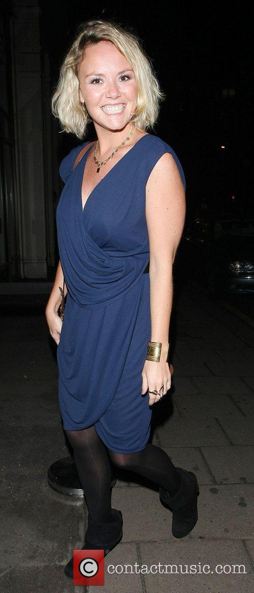 Charlie Brooks leaving Nobu restaurant London, England