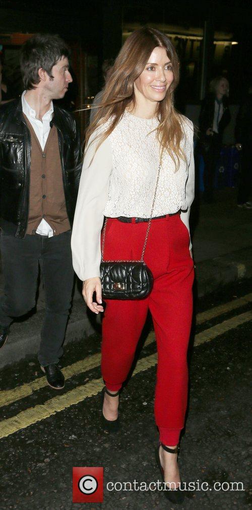 Noel Gallagher and Sara MacDonald 14