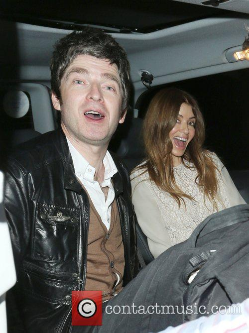 Noel Gallagher and Sara Macdonald 5
