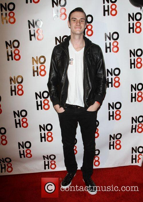 Cooper Hefner NOH8's 3 year Anniversary Celebration held...