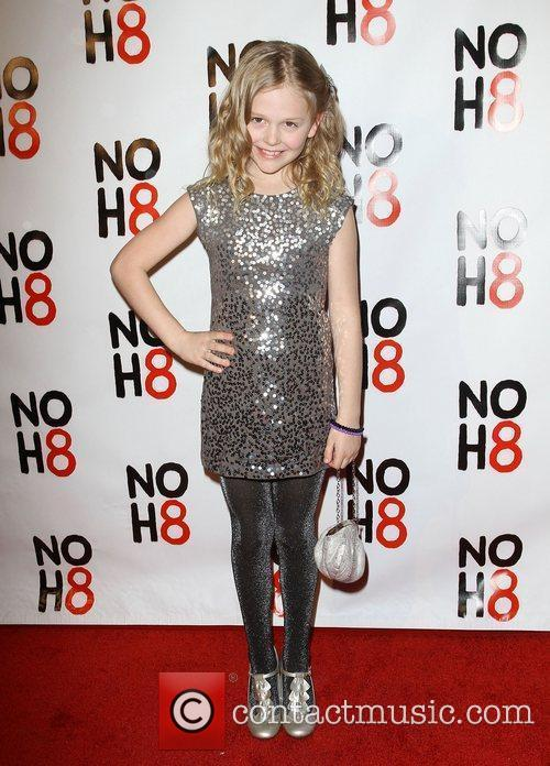 Emily Alyn Lind NOH8's 3 year Anniversary Celebration...