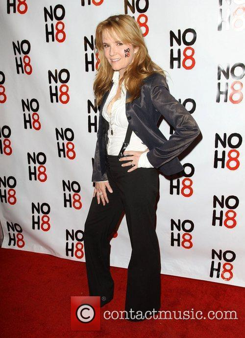 Lea Thompson NOH8's 3 year Anniversary Celebration held...