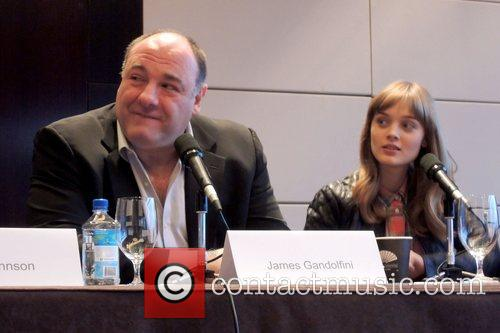 James Gandolfini and Bella Heathcote 4