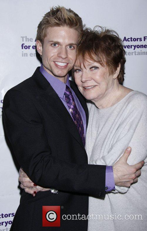 Hunter Ryan Herdlicka and Polly Bergen After party...