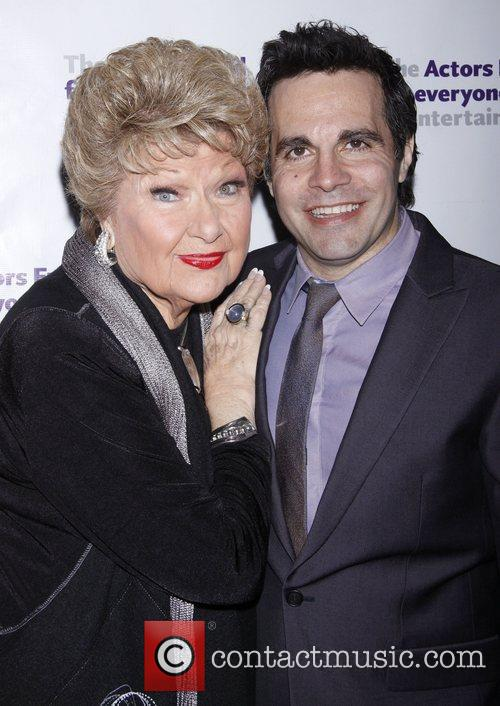 Marilyn Maye and Mario Cantone After party for...