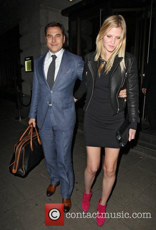 David Walliams and Lara Stone 2