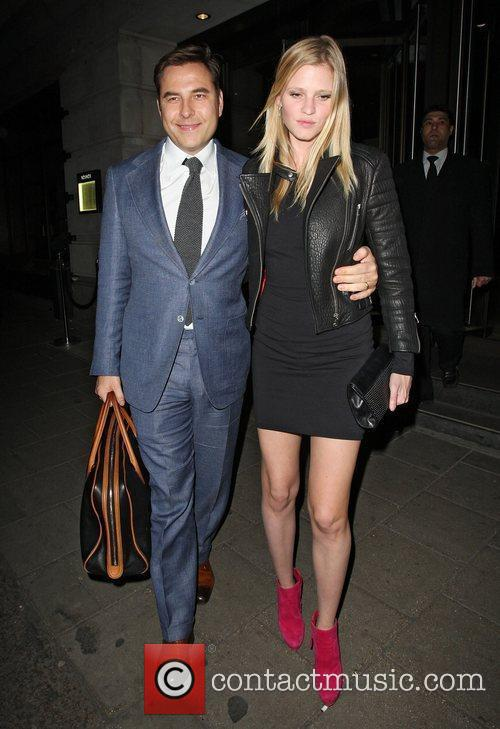 David Walliams and Lara Stone 3
