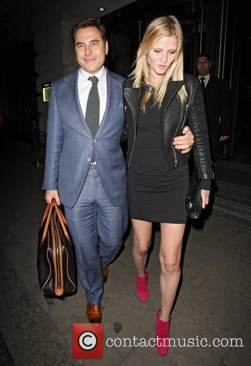 David Walliams and Lara Stone 5