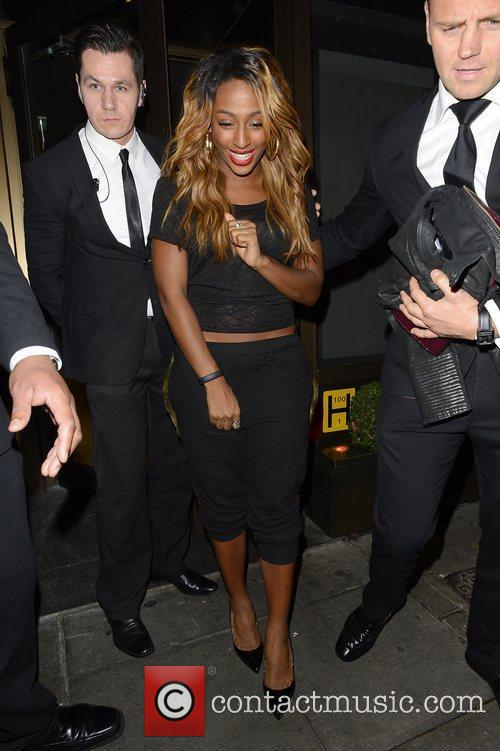 Alexandra Burke and Novikov 1