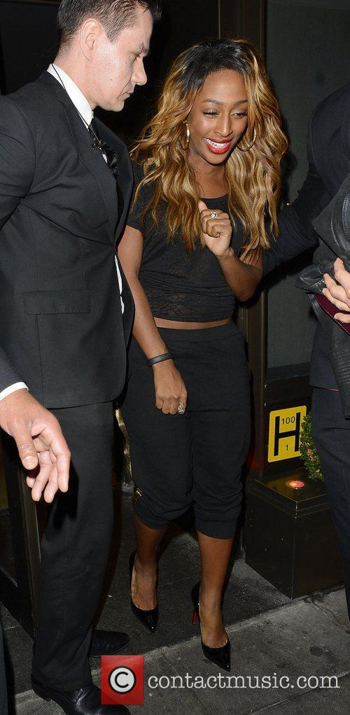 Alexandra Burke and Novikov 4