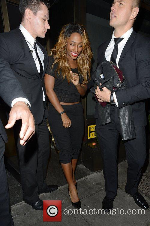 Alexandra Burke and Novikov 5