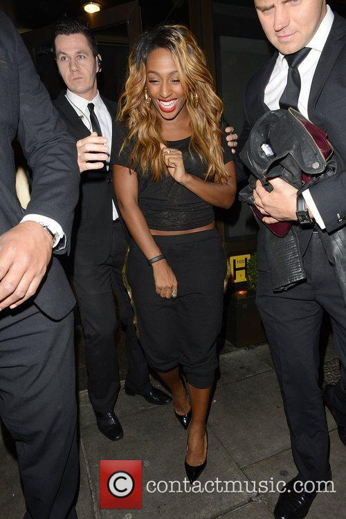Alexandra Burke and Novikov 2