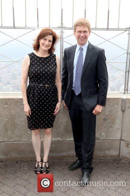 NY1 Anchors Pat Kiernan and Roma Torre attend...