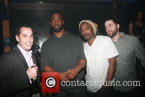 Michael Sinensky, Justin Tuck, Chris Quick and guest...