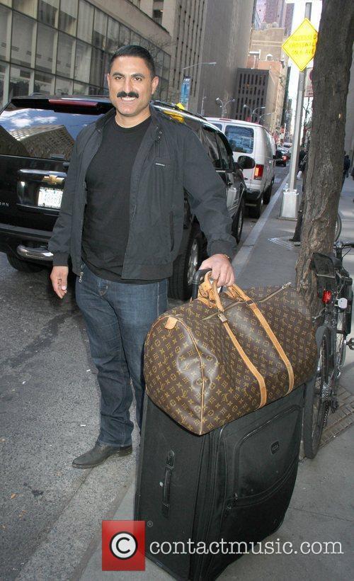 Reza Farahan  Celebrities arrive at the studio...