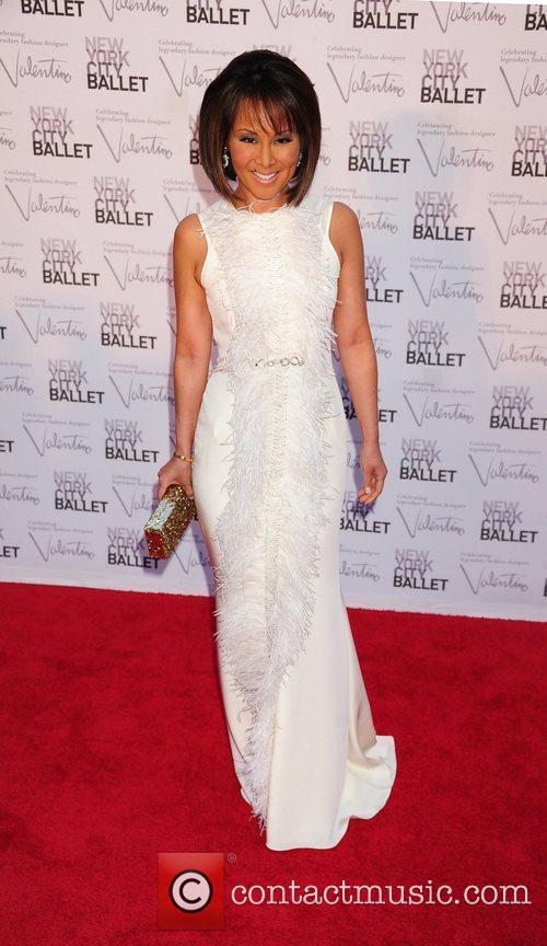 Alina Cho New York City Ballet Fall Gala...