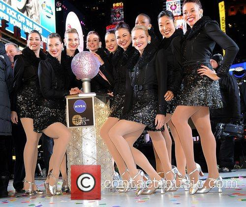 The Rockettes New Year's Rockin' Eve 2013 in...