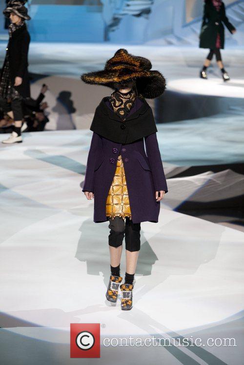 Model Mercedes-Benz Fashion Week - Fall 2012 -...