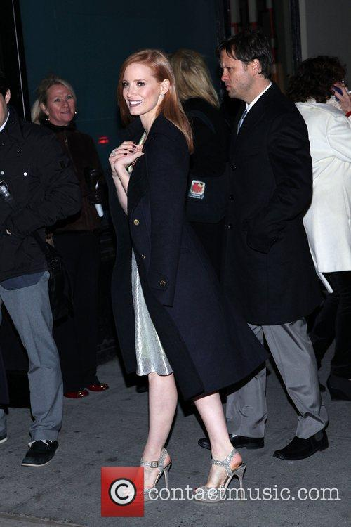 Jessica Chastain 77th Annual New York Film Critics...