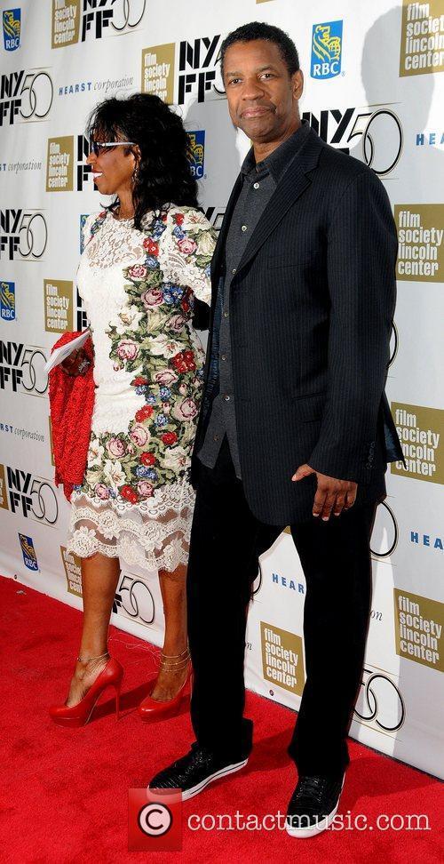 Pauletta Washington and Denzel Washington 3