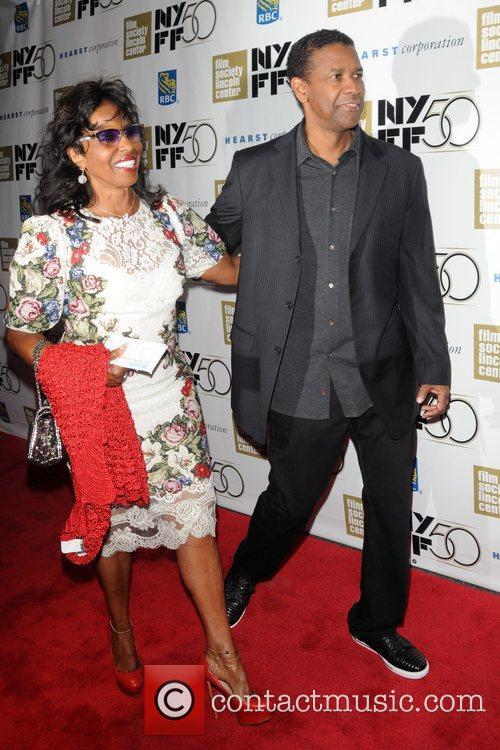Pauletta Washington and Denzel Washington 2