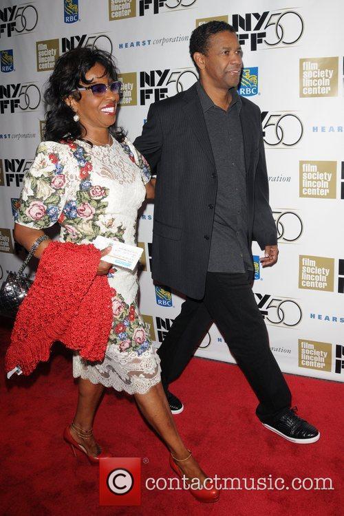 Pauletta Washington and Denzel Washington 4