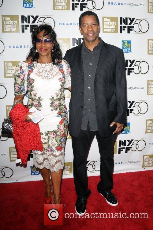 Pauletta Washington and Denzel Washington 5