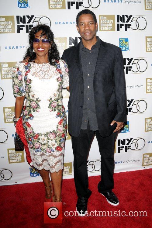 Pauletta Washington and Denzel Washington 6