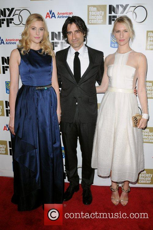 Greta Gerwig, Director Noah Baumbach and Mickey Sumner 3