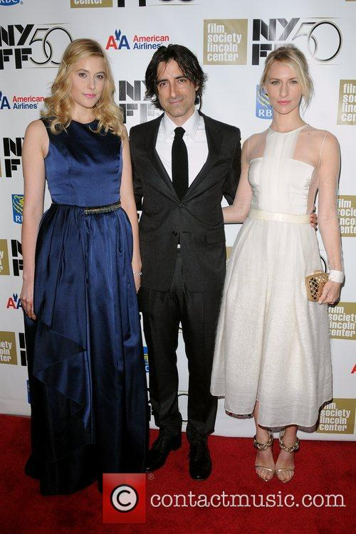 Greta Gerwig, Director Noah Baumbach and Mickey Sumner 1