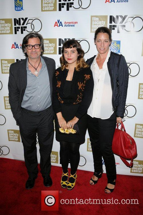 Griffin Dunne, Hannah Dunne and Guest 1