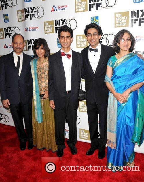 Suraj sharma new york film festival 2012 opening night for Life of pi family