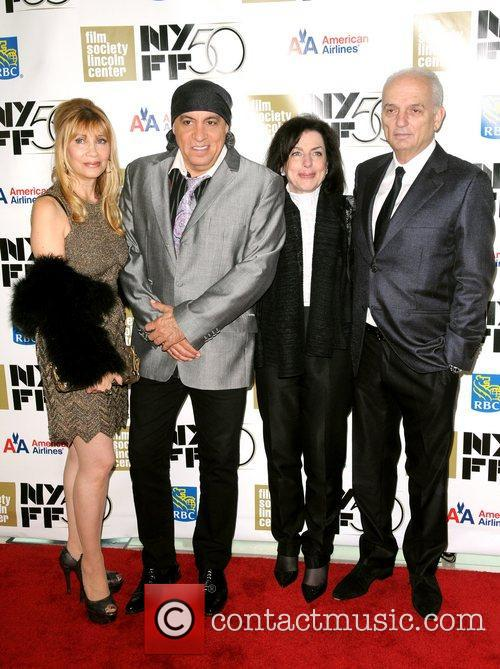 Maureen Van Zandt, Steven Van Zandt, Denise Kelly and David Chase 2
