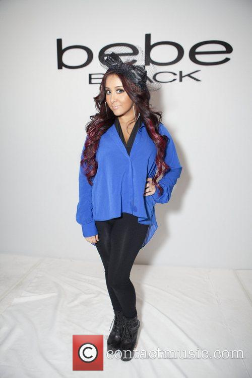 Nicole 'Snooki' Polizzi Mercedes-Benz Fashion Week - Fall...