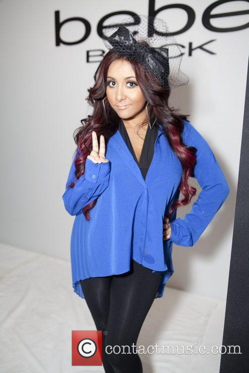 nicole snooki polizzi mercedes benz fashion week 5794430