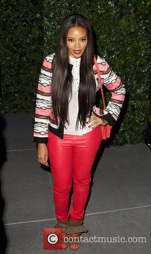 Angela Simmons Mercedes-Benz New York Fashion Week Spring/Summer...