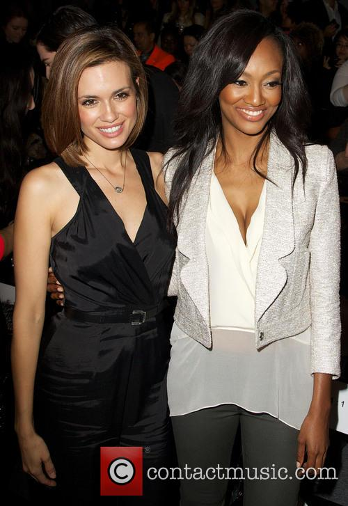 Torrey DeVitto; Nichole Galicia Mercedes-Benz New York Fashion...